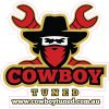 Cowboy Tuned Logo Sticker