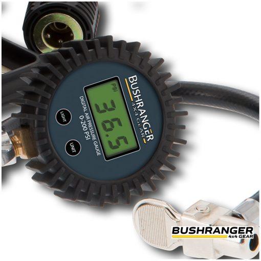 Bushranger Max Air III Compressor gauge