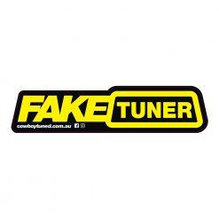 Fake Tuner Sticker