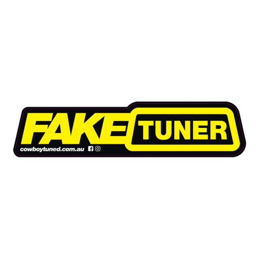 Fake Tuner Sticker