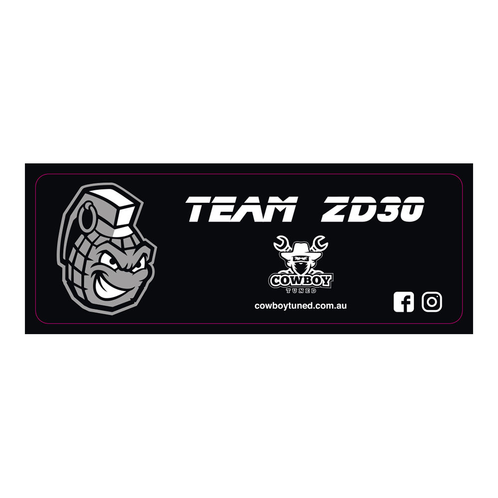 Team ZD30 Sticker