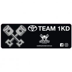 Team 1KD sticker
