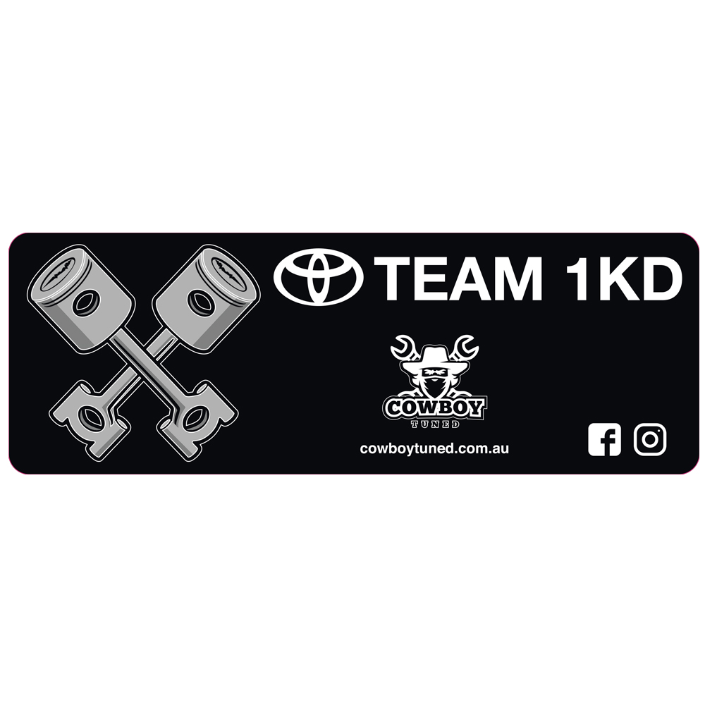 Team 1KD sticker